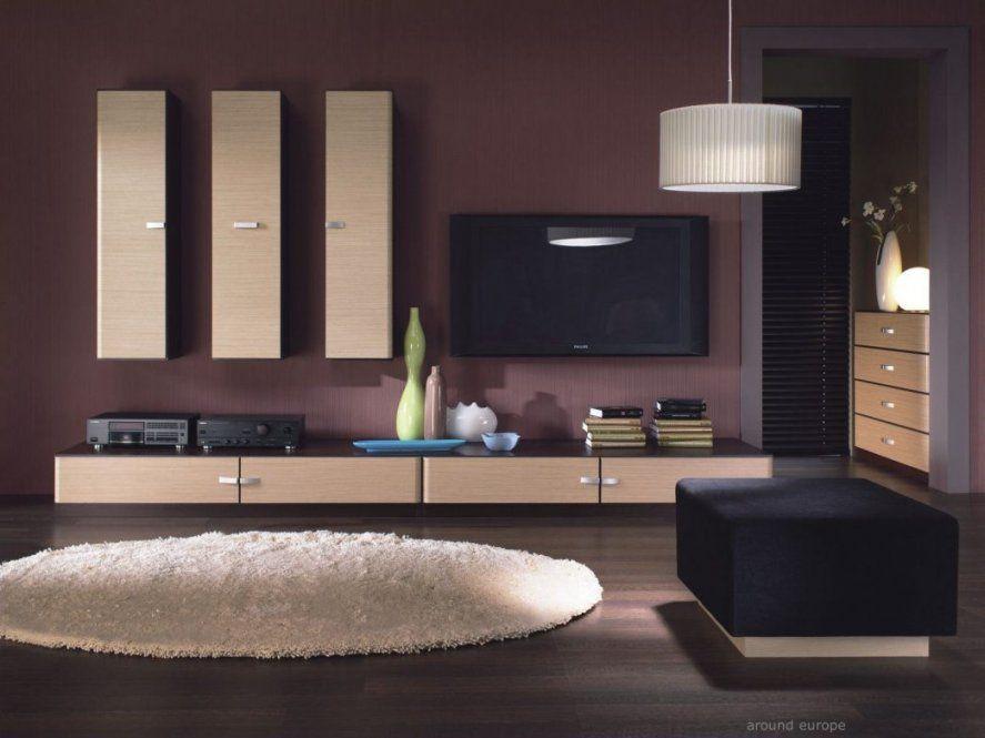 Atemberaubend Wohnzimmer Farben Beispielen Fur Spektakulare On von Moderne Wandfarben Für Wohnzimmer Bild