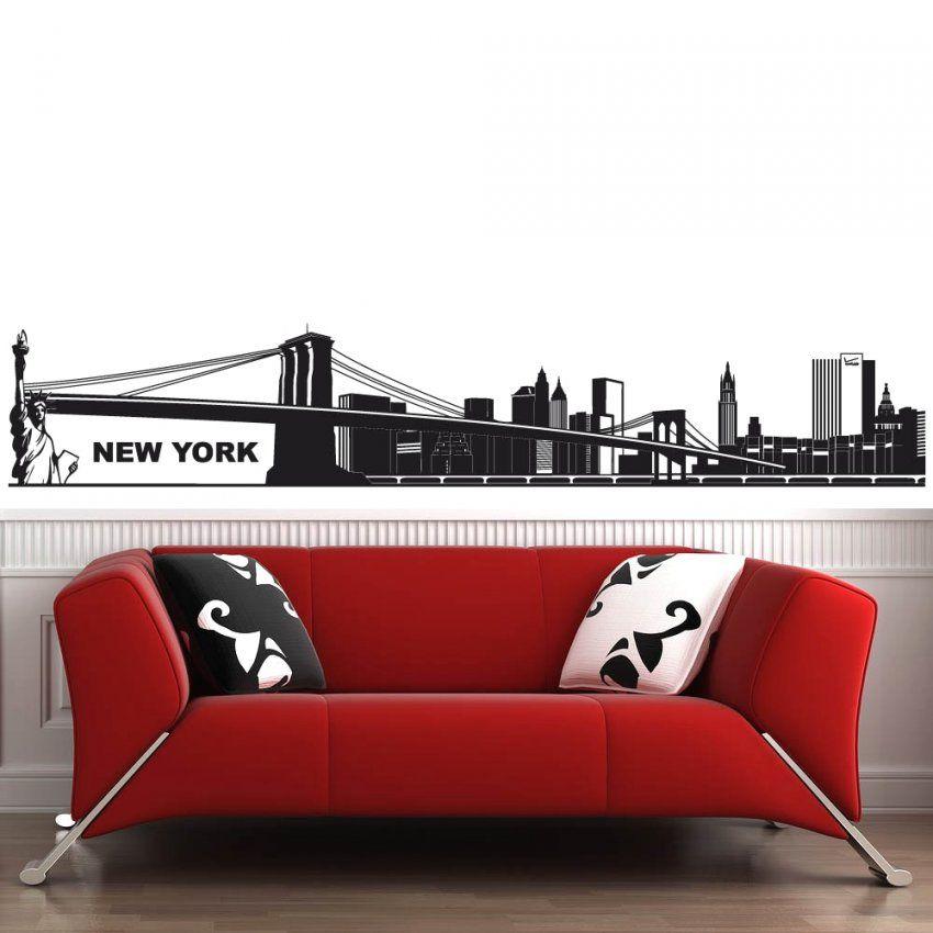 Atemberaubende Inspiration New York Wandtattoo Und Schöne Skyline von Skyline New York Wandtattoo Bild