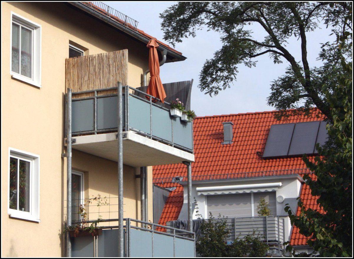 Attraktiv Balkon Sichtschutz Ohne Bohren  Questsc von Balkon Sichtschutz Seite Ohne Bohren Bild