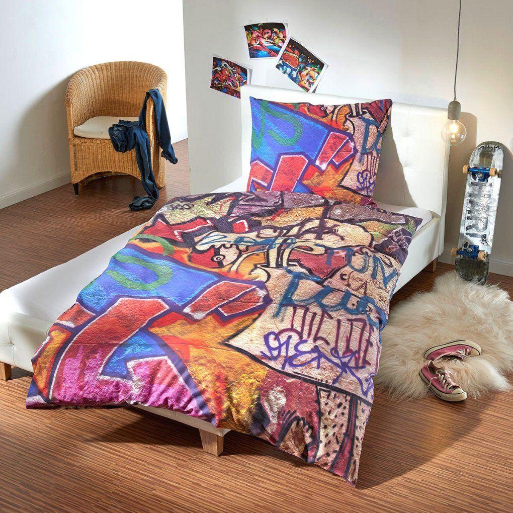 Attraktive Inspiration Graffiti Bettwäsche Und Fantastische Renforc von Mann Mobilia Bettwäsche Bild