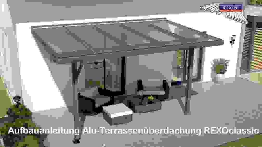 Aufbau Einer Leimholz Terrassenüberdachung For Selbst Ist Frisch von Terrassenüberdachung Günstig Selber Bauen Photo