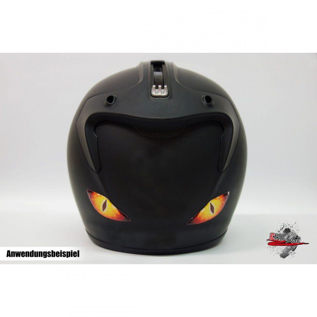 Aufkleber 3D  Lizzard Eye´s (Aufkleber  Echsen Augen) von Helm Aufkleber Selber Gestalten Bild