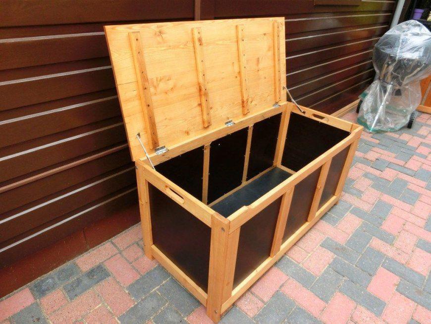 Auflagenbox Selber Bauen  Auflagenbox Lärchenholz Und Selber Bauen von Auflagenbox Holz Selber Bauen Bild