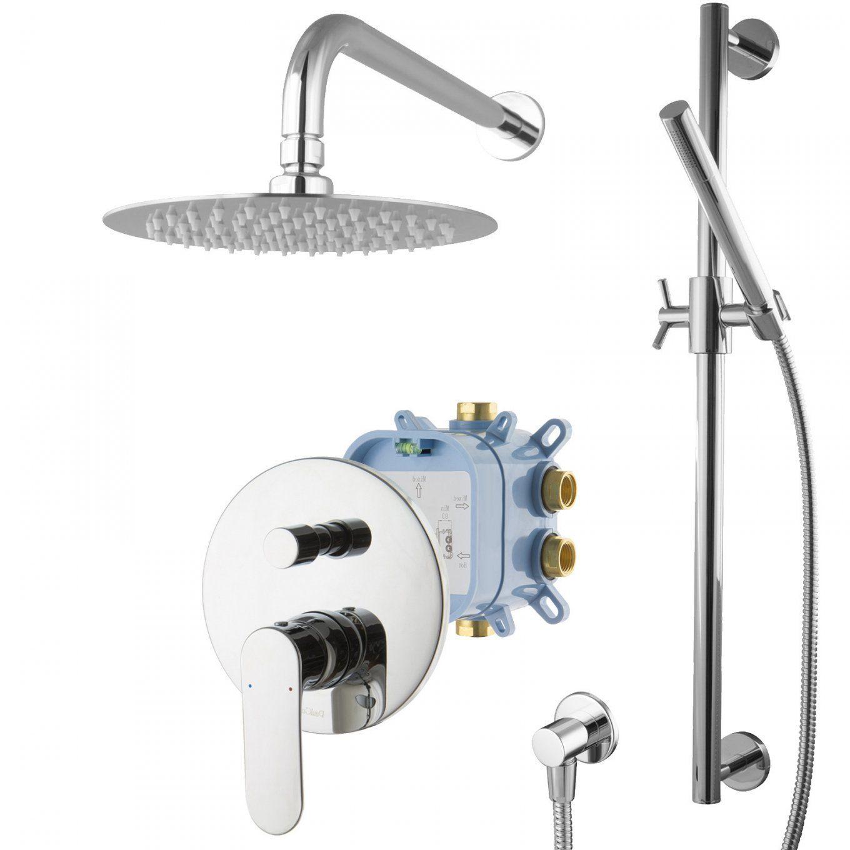 Aufregend Wandspiegel Badspiegel Hinterhof Kollektion A von Unterputz Armatur Dusche Set Bild
