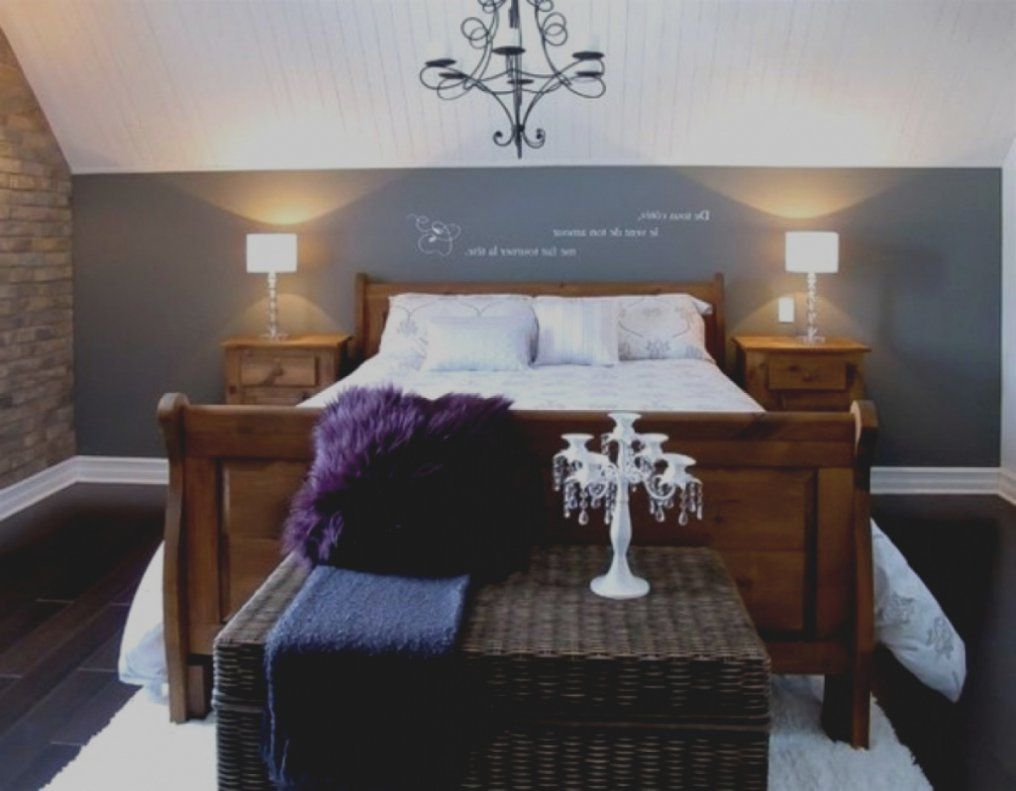 Ausgezeichnet Schlafzimmer Ideen Wandgestaltung Dachschräge Auf von ...