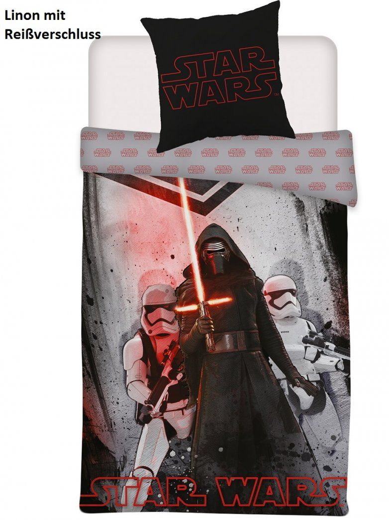 Auswahl Star Wars Bettwäsche Set Kylo Ren Chewbacca 135X200 von Star Wars Bettwäsche Real Bild