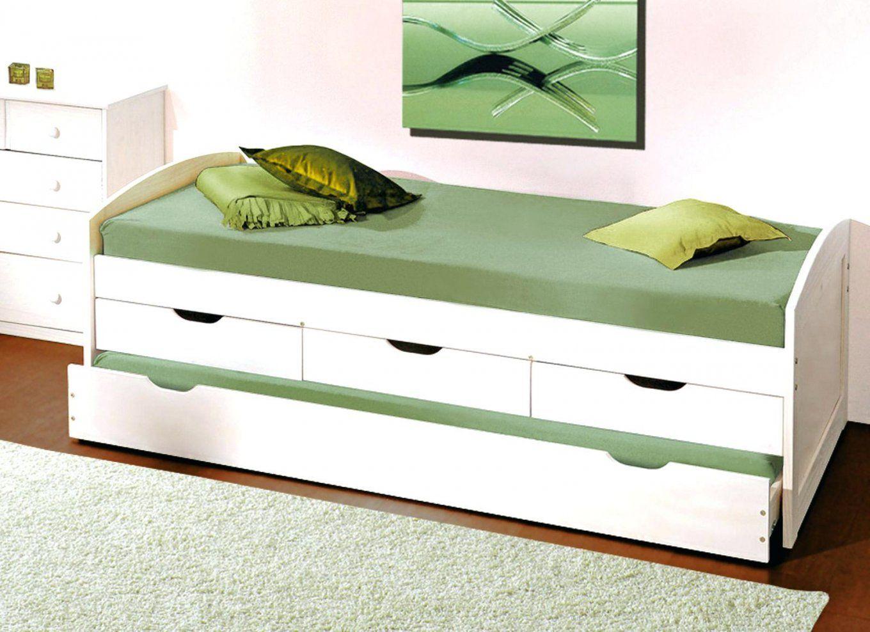 AuBergewohnlich ... Ausziehbett Unglaubliche Ideen Bett Mit Gleiche Hohe Holz Und Von  Ausziehbett Gleiche Höhe Ikea Bild ...