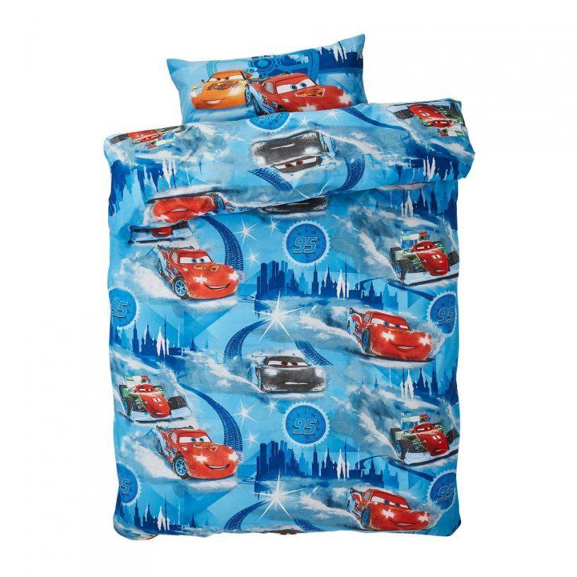 Auto Bettwäsche  Kinderbettwäsche Cars (135X200) Preiswert von Kinderbettwäsche Eiskönigin 100X135 Photo