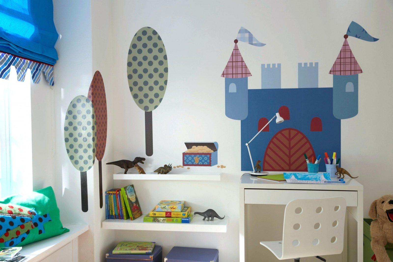 Auto Kinderzimmer Junge Wandgestaltung Ideen Attraktiv Auf Dekoideen von Kinderzimmer Deko Ideen Jungen Bild