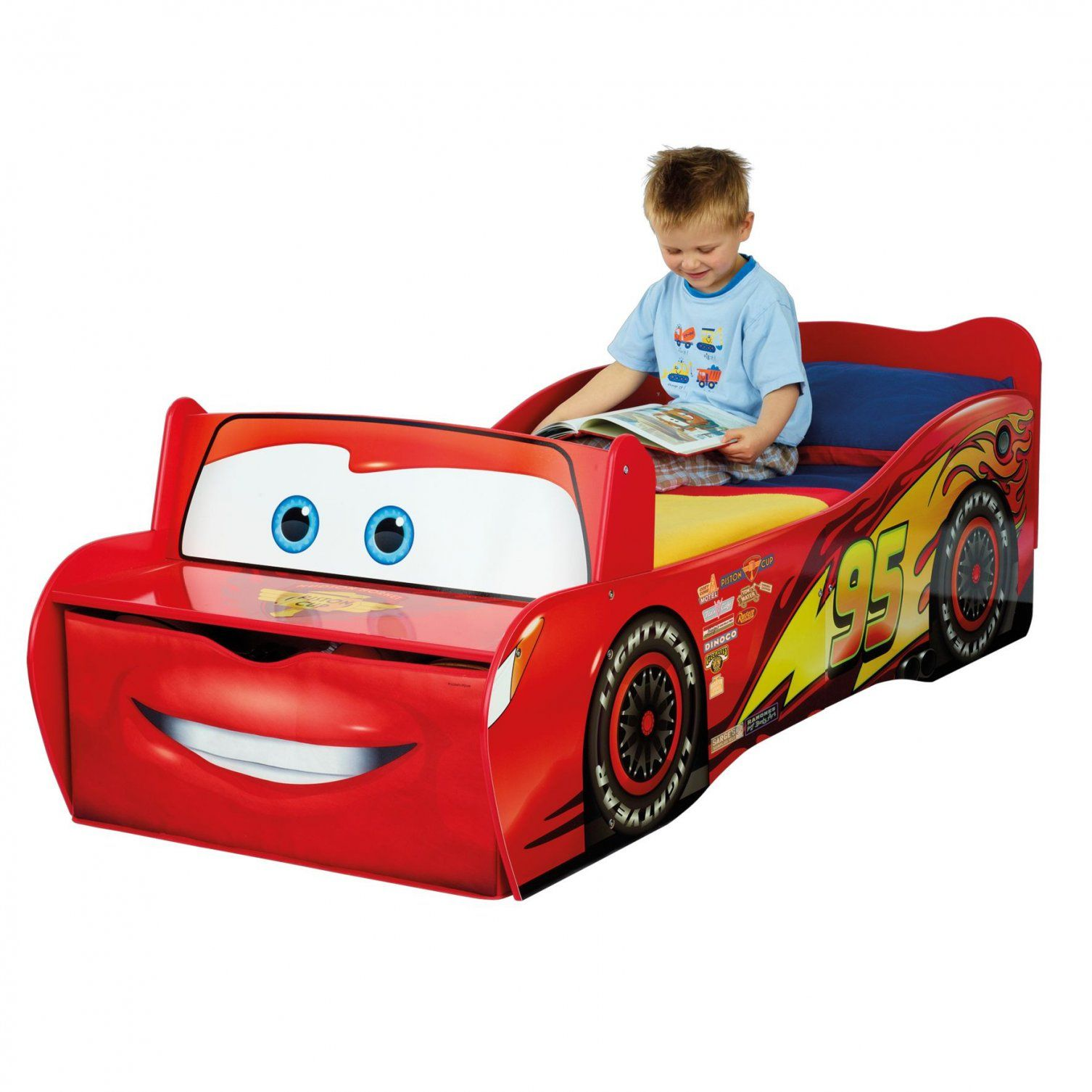 Autobett Cars Für Kinder (70 X 140 Cm) Online Kaufen  Emob von Cars Bettwäsche 70X140 Bild