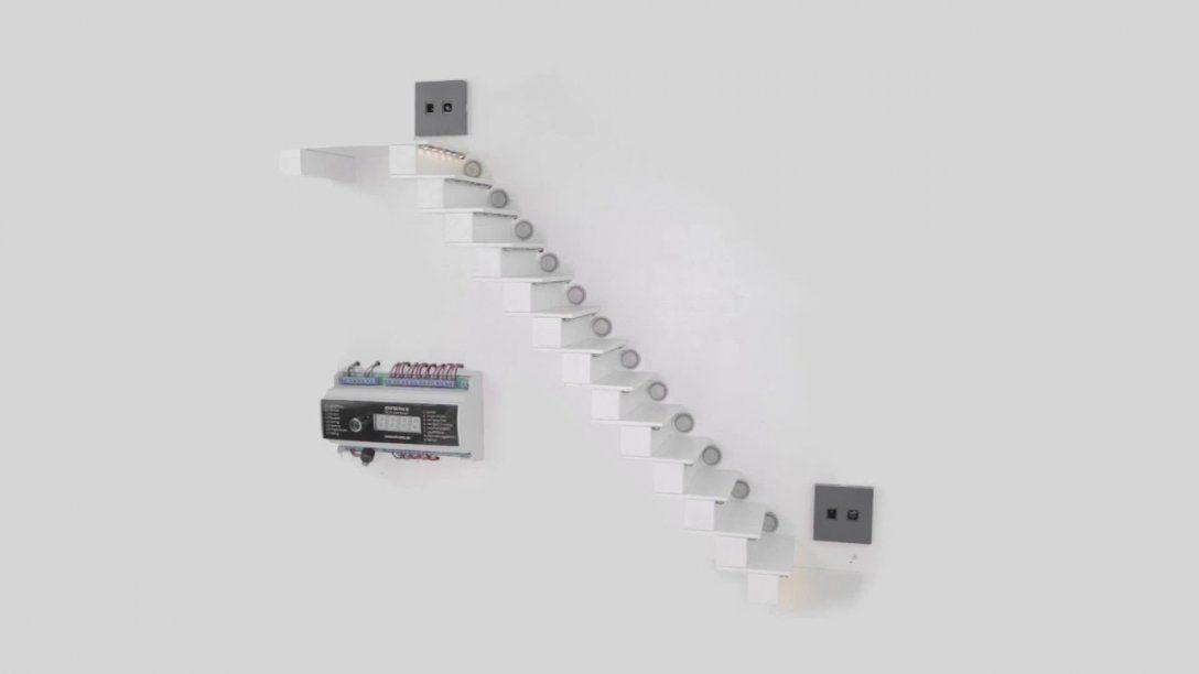 Automatische Sensorgesteuerte Ledtreppenbeleuchtung Aslt16 Pro D von Led Treppenlicht Mit Bewegungsmelder Bild