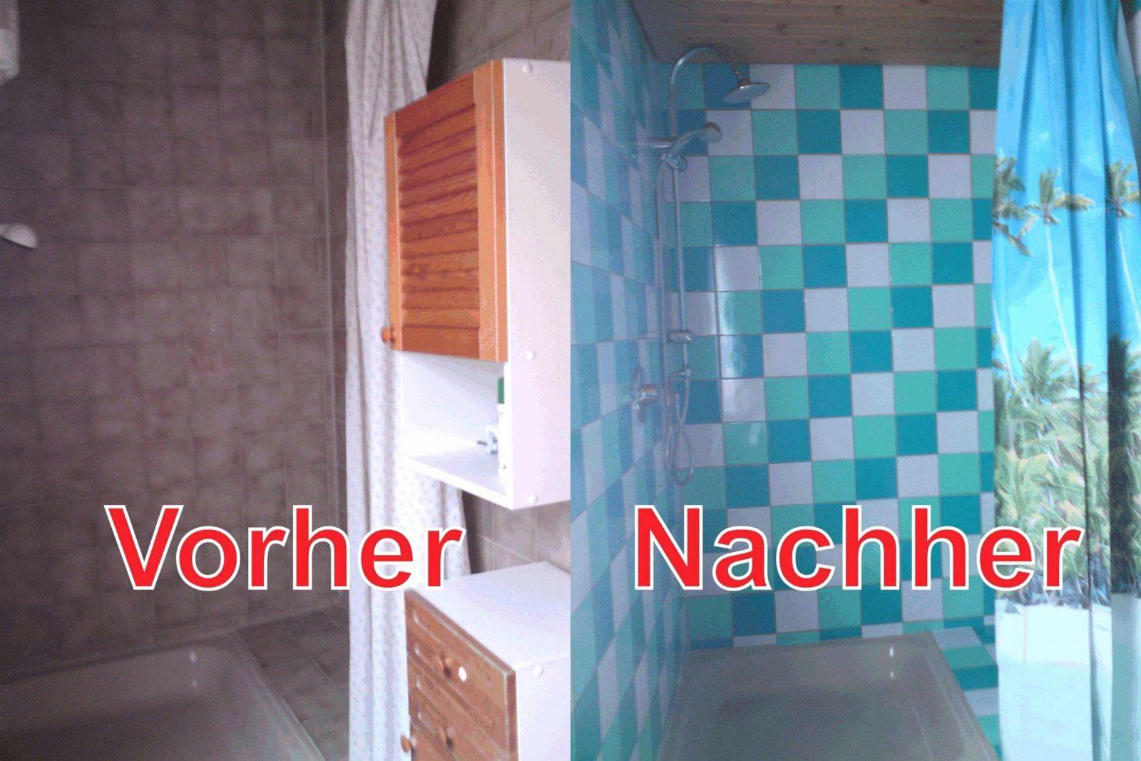 Fliesen folie selbstklebend bad haus design ideen for Fliesen selbstklebend bad