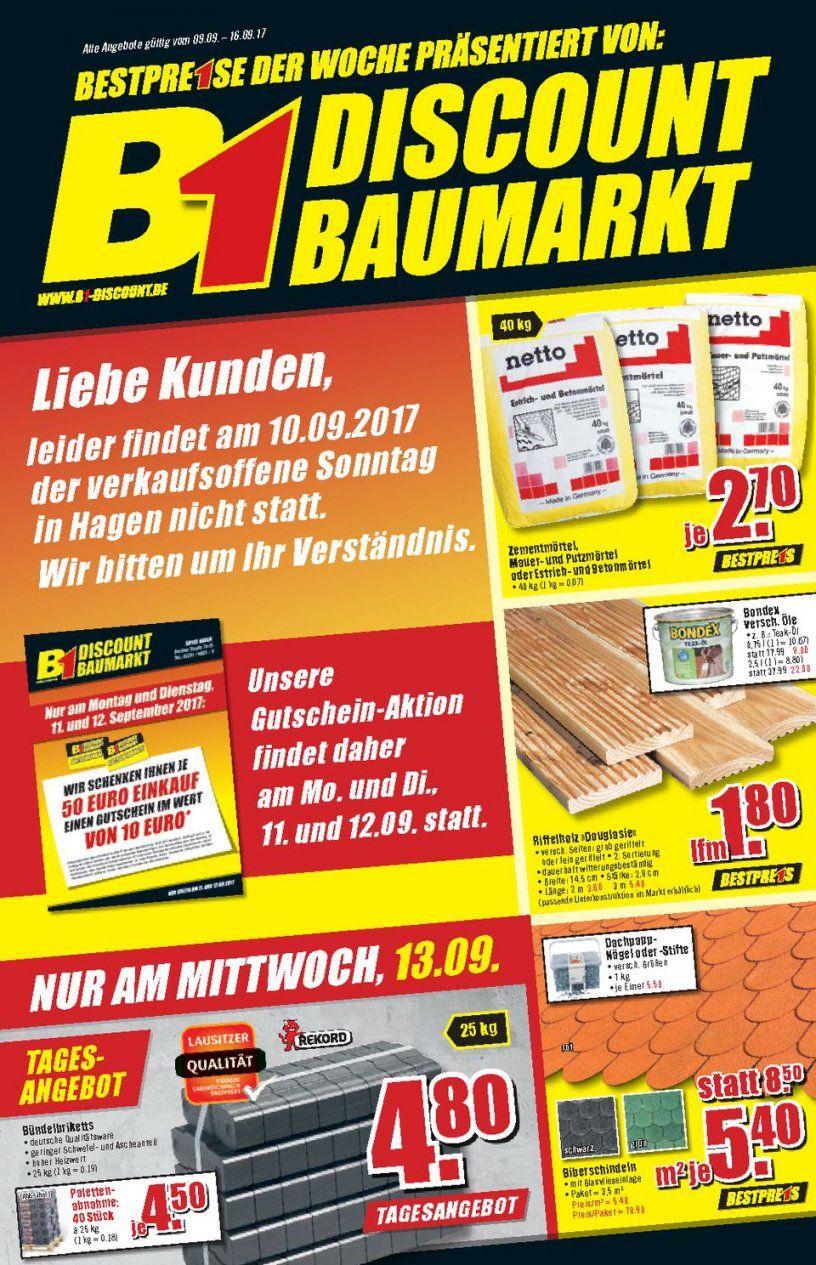 B1 Discount Baumarkt Prospekte   Seite No 16 Gültig Von 99 Bis von B1 Discount Baumarkt Hagen Bild