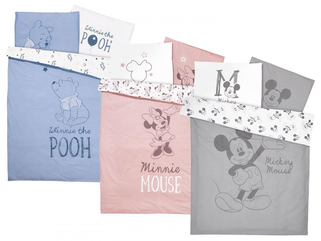 Baby Bettwäsche 100 X 135 Cm  Lidl Deutschland  Lidl von Minnie Mouse Bettwäsche 100X135 Photo