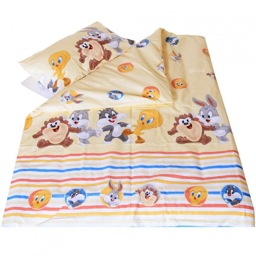 Baby Bettwäsche Bettset Kissenbezug 60X40 Bettdeckenbezug 135X100 von Baby Bettwäsche Disney Bild