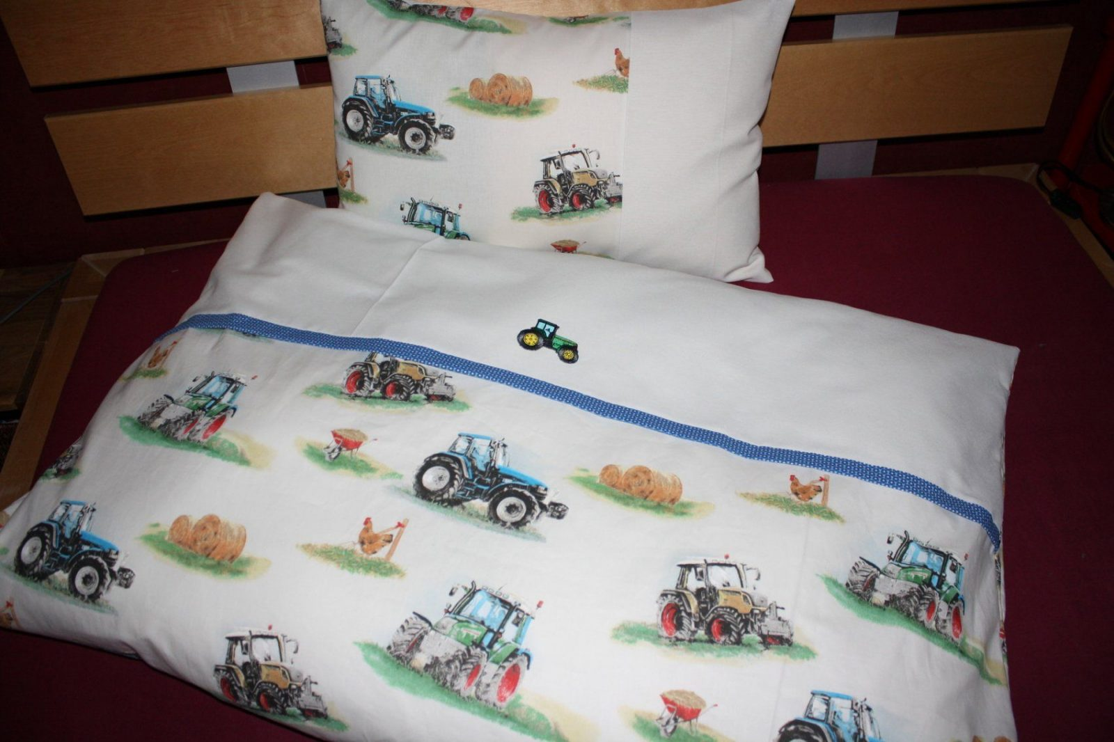 Baby Bettwäsche  Bettwäsche Trecker & Traktoren 100 X 135 Cm von Traktor Bettwäsche 100X135 Photo