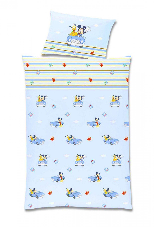 Baby Bettwäsche  Kinderbettwäsche Renforce 100X135 Mickey Mouse Art von Mickey Mouse Bettwäsche 100X135 Bild