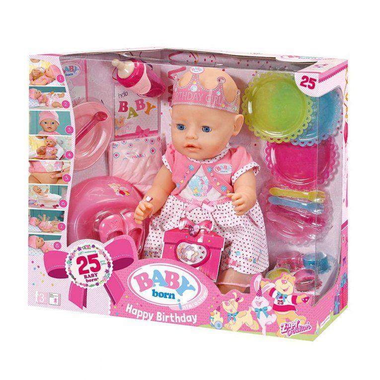 Baby Born Interactive Happy Birthday Doll  Toysr&quotus von Baby Born Interactive Waschtisch Photo