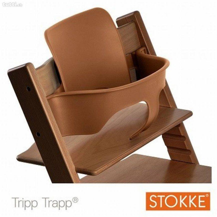 Baby Set Stokke Tripp Trapp Bauchbügel & Rückenlehne In Zürich von Stokke Tripp Trapp Braun Photo