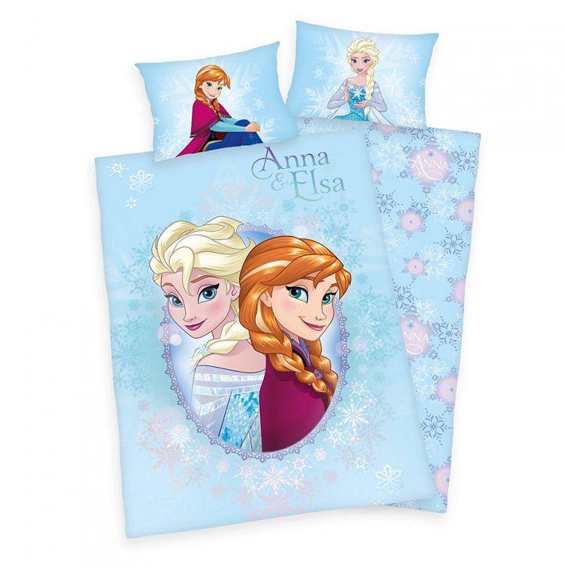 Babybettwäsche Disney Die Eiskönigin Anna Und Elsa (2Tlg von Eiskönigin Bettwäsche Günstig Photo