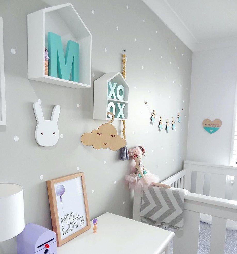 babyzimmer dekoration madchenkinderzimmer kinderzimmer in grau und von wanddeko babyzimmer. Black Bedroom Furniture Sets. Home Design Ideas