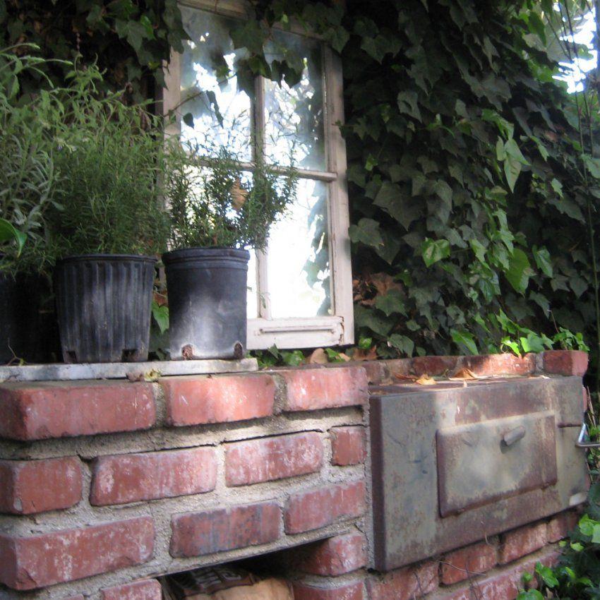 Backofen Im Garten Holzofen Steinofen Pizzaofen Selber Bauen von Steinmauern Im Garten Selber Bauen Photo