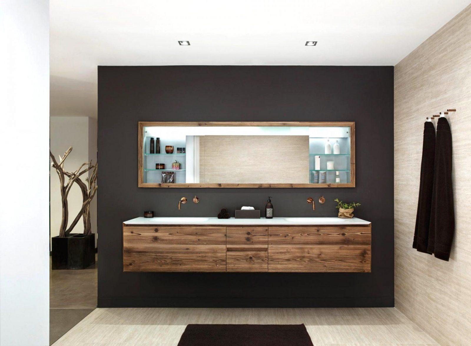Bad Ideen Holz Nett On Auf Badideen Mit  Moderne von Moderne Bäder Mit Holz Bild