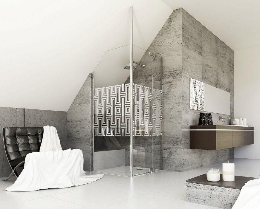 Bad Mit Dachschrägen  So Setzen Sie Ihre Planungswünsche Um  My von Bad Mit Dachschräge Planen Bild