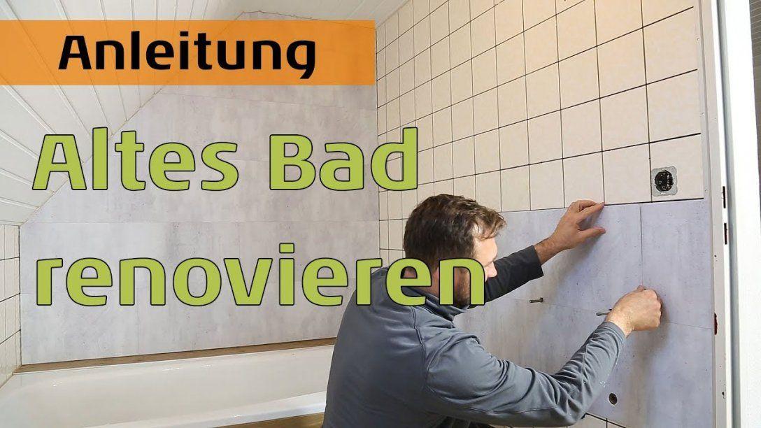 Bad Neu Gestalten  Boden Und Wände Im Alten Badezimmer Renovieren von Altes Bad Neu Gestalten Bild