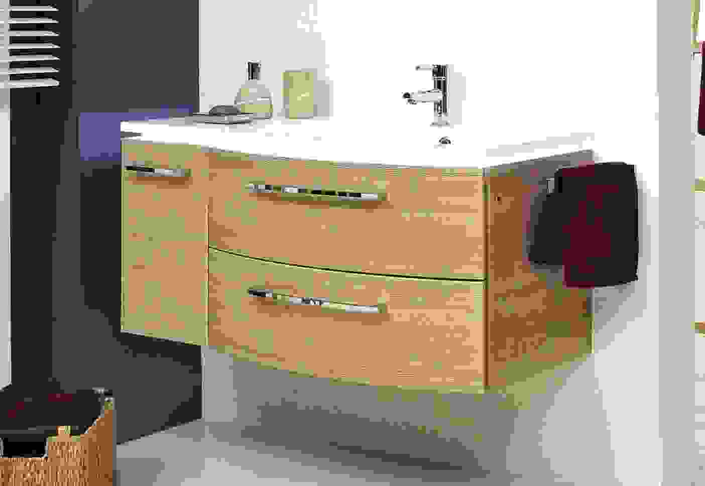 Bad Unterschrank Hangend Rheumri Waschbecken Mit 40 Cm Tief Von von Waschbecken Mit Unterschrank 40 Cm Tief Bild