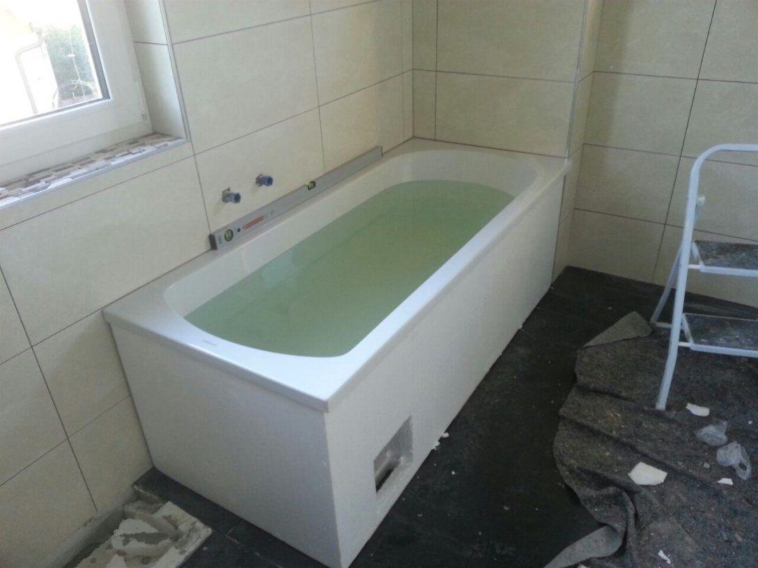 Badewanne Mit Wannenträger Einbauen Jg71 – Hitoiro von Badewanne Einbauen Ohne Wannenträger Bild