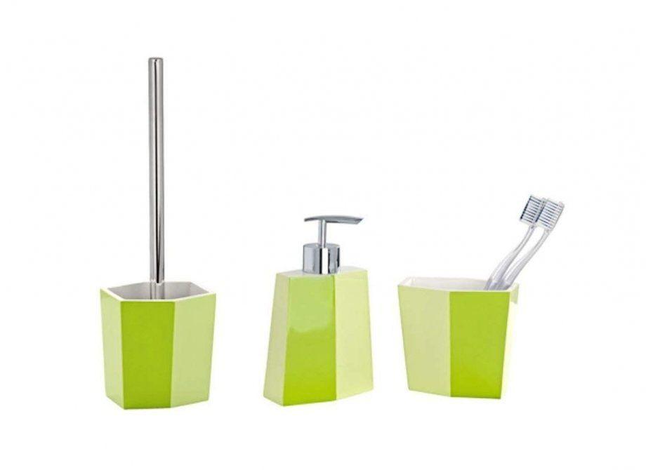 Badezimmer Accessoires In Grün  Deko Ideen von Badezimmer Accessoires Grün Bild