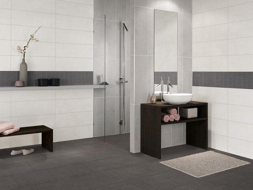 Badezimmer Anthrazit Weis Fliesen Design von Bad Fliesen Anthrazit ...