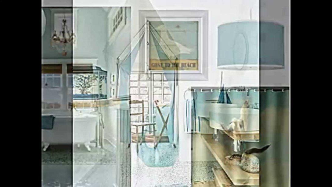 Badezimmer Deko Ideen Im Maritim Look Zum Selbermachen  Youtube von Badezimmer Deko Selber Machen Bild