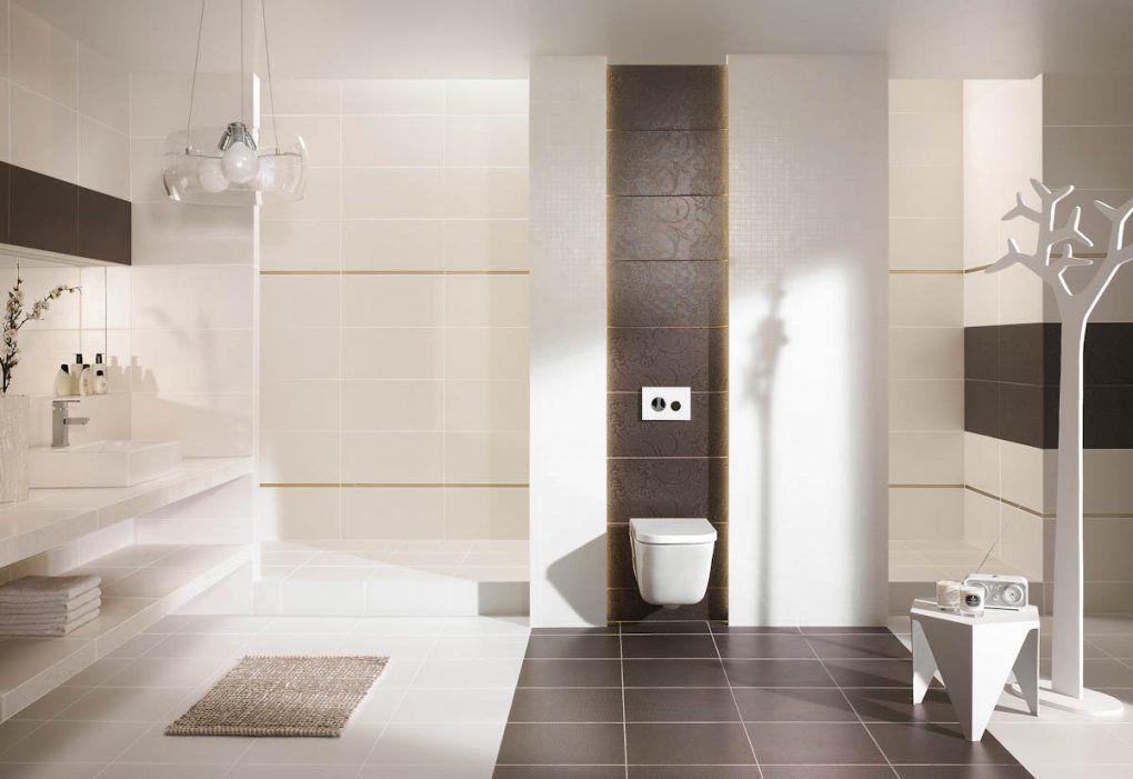 Badezimmer Fliesen Braun  Design von Badezimmer Fliesen Braun Beige Photo