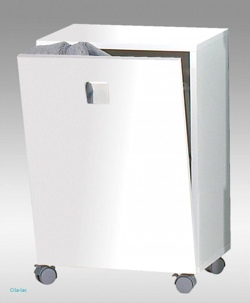 Badezimmer Fliesen Mit Badezimmerschrank Mit Integriertem Wäschekorb von Badschrank Mit Integriertem Wäschekorb Bild