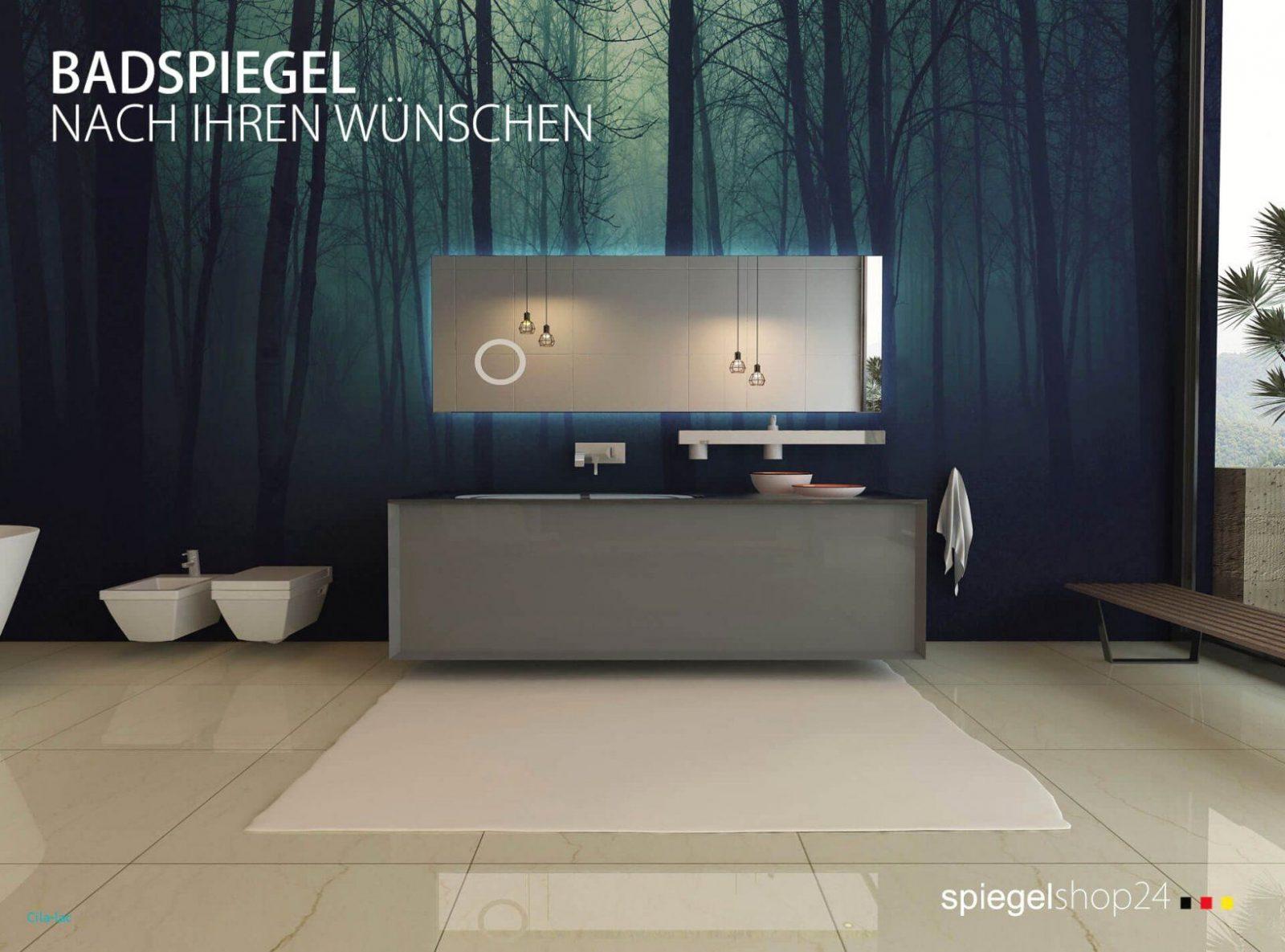 Badezimmer Fliesen Mit Badspiegel Holz Mit Licht Ehrfürchtig Led von Led Badspiegel Nach Maß Bild