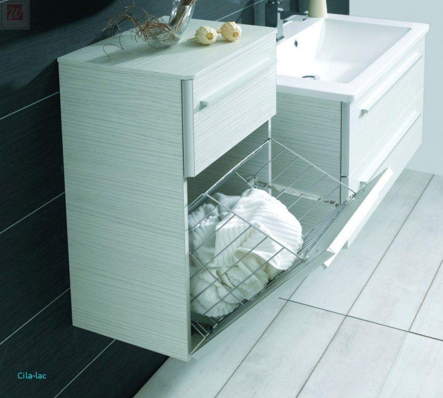 Badezimmer Hochschrank Mit Integriertem Wäschekorb Frische von Badschrank Mit Integriertem Wäschekorb Bild