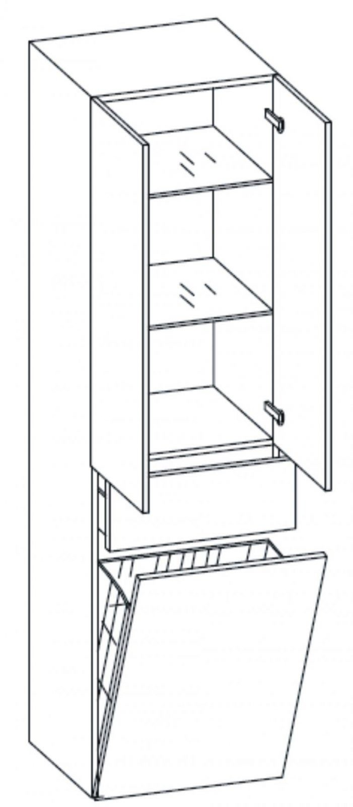 Badezimmer Hochschrank Mit Wäschekorb Am Besten Bild Und Badschrank von Badschrank Mit Integriertem Wäschekorb Photo