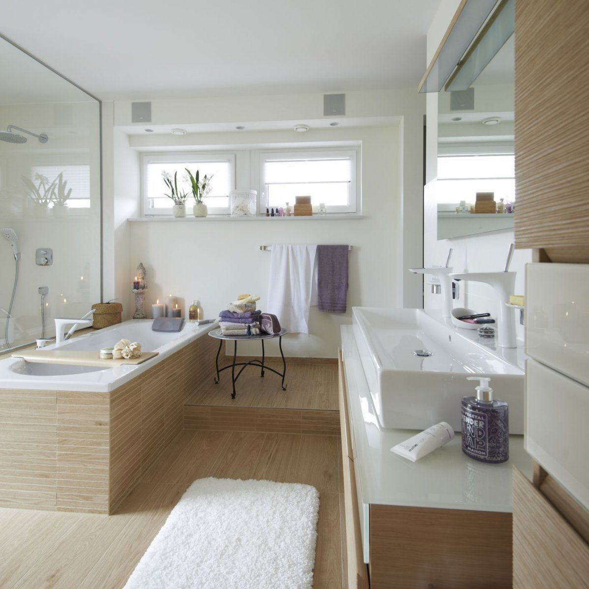 Badezimmer Im Holzstyle Zu Finden Unter Villeroy & Boch Nature Side von Fliesen Holzoptik Villeroy Boch Bild