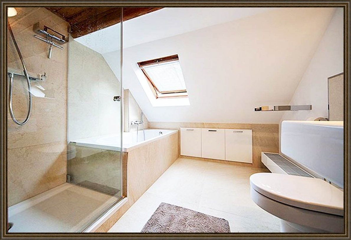 Bad Mit Dachschräge Planen | Haus Design Ideen