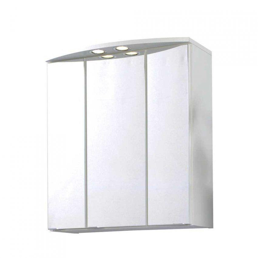Badezimmer Schrank 3 Türig  Design von Bad Spiegelschrank Mit Beleuchtung Günstig Photo