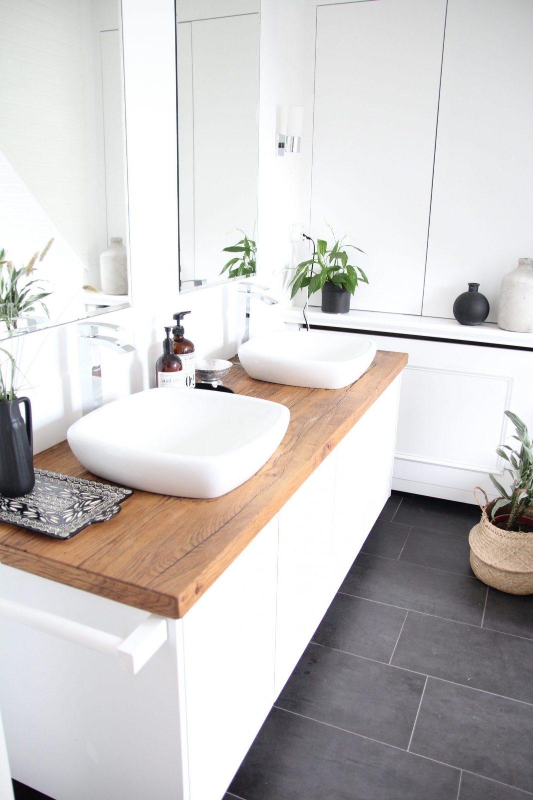 Badezimmer Selbst Renovieren Vorhernachher – Design Dots von Waschbecken Platte Selber Bauen Photo