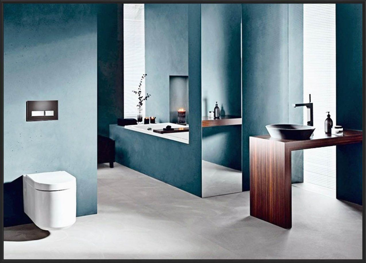 Badezimmer Verputzen Statt Fliesen  Wohndesign & Möbel Ideen von Badezimmer Farbe Statt Fliesen Photo