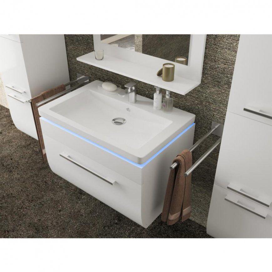 Badezimmer Waschtisch 70 Cm  Design von Waschbecken 70 Cm Mit Unterschrank Bild