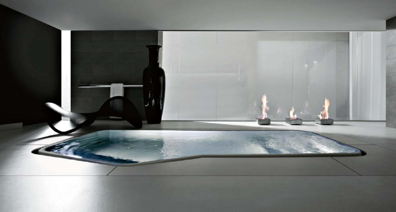 Badezimmer Whirlpool Genial Badezimmer Jacuzzi Design  Haus von Luxus Badezimmer Mit Whirlpool Bild