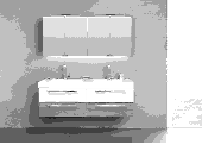 Badm bel set doppelwaschbecken elegant atemberaubend set for Doppelwaschbecken 160 cm