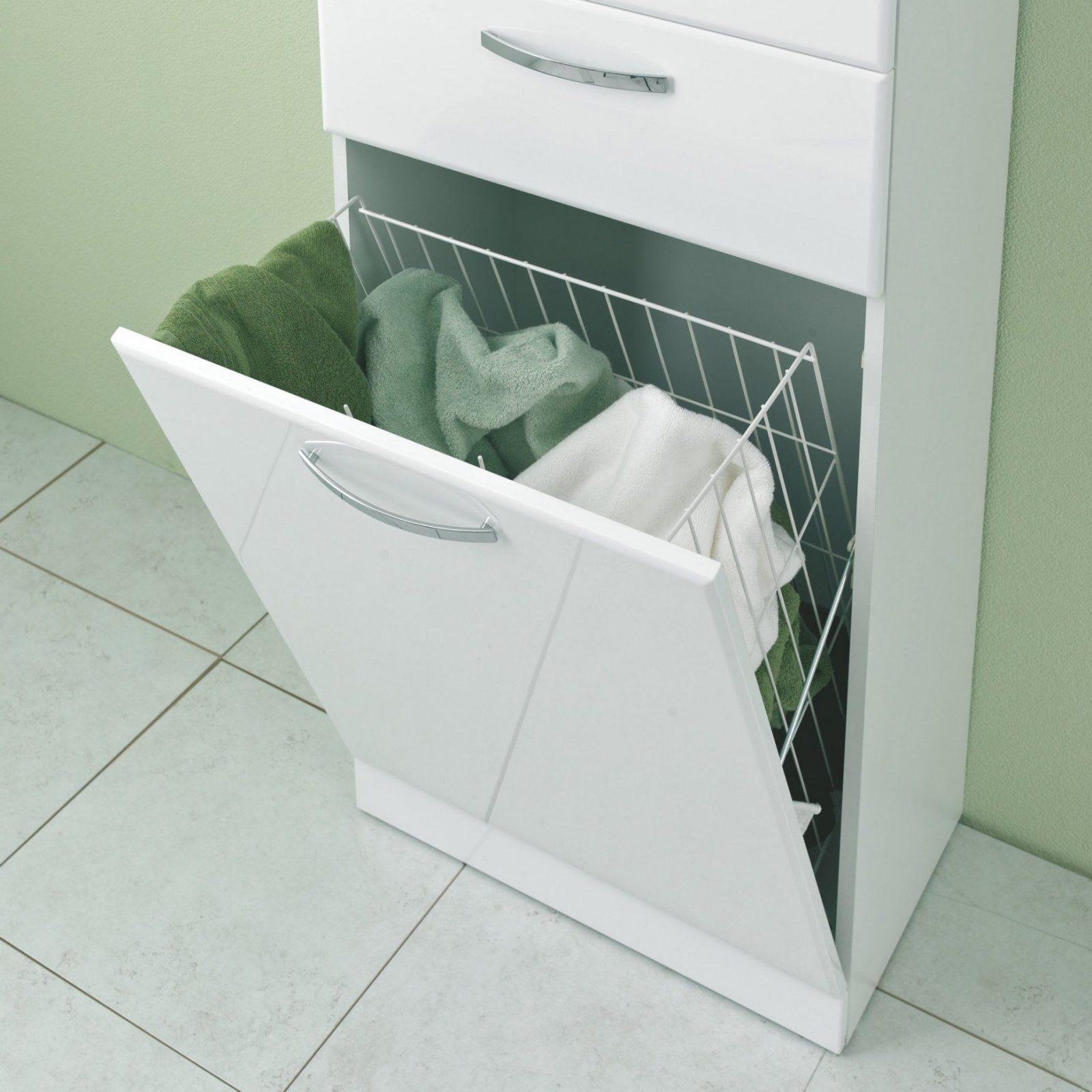 Badezimmerschrank Mit Integriertem Wäschekorb  Icnib von Badschrank Mit Integriertem Wäschekorb Photo
