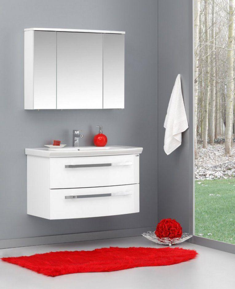 Badmöbel  Badezimmer Badmoebel Komplett Set  Badshop Baushop von Bauhaus Waschtisch Mit Unterschrank Bild
