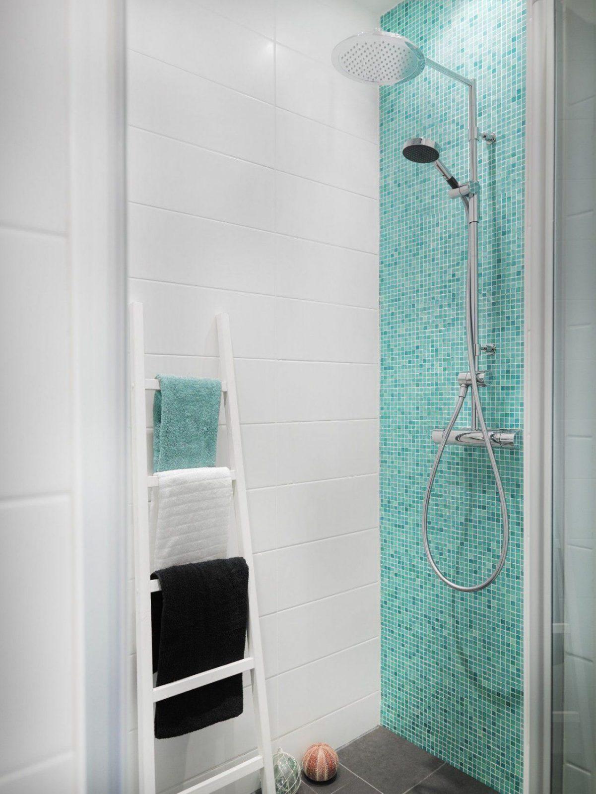 Mosaik Fliesen Bad Turkis Haus Design Ideen